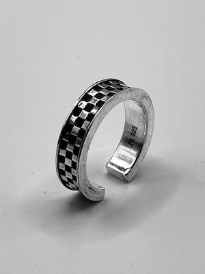 市松模様リング(Checkered pattern Ring)