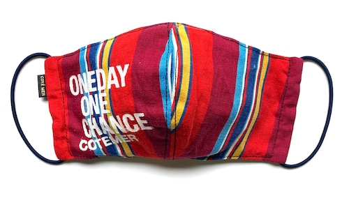 【COTEMER マスク 日本製】ONE DAY ONE CHANCE STRIPE MASK 0519-129