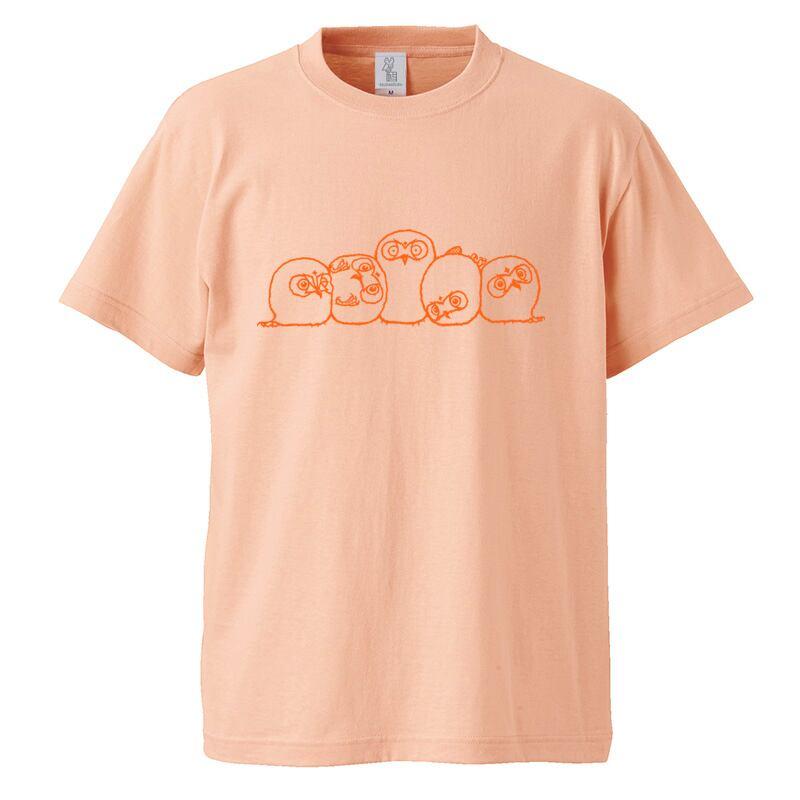 『おしくらけだまんじゅう』Tシャツ