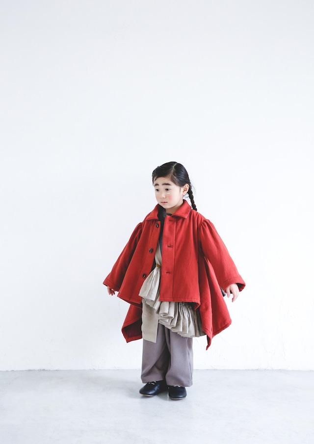 【21AW】ミチリコ(michirico) sway coat Red【S・M】コート
