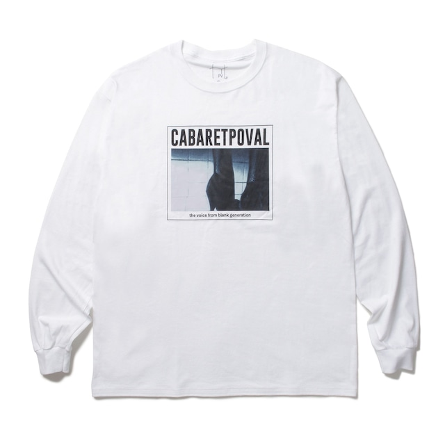 POVAL Fascination L/S TEE WHITE