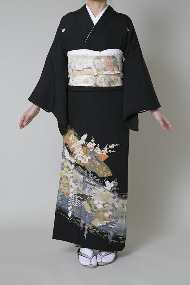 【レンタル】黒留袖 TAL-1(Lサイズ)