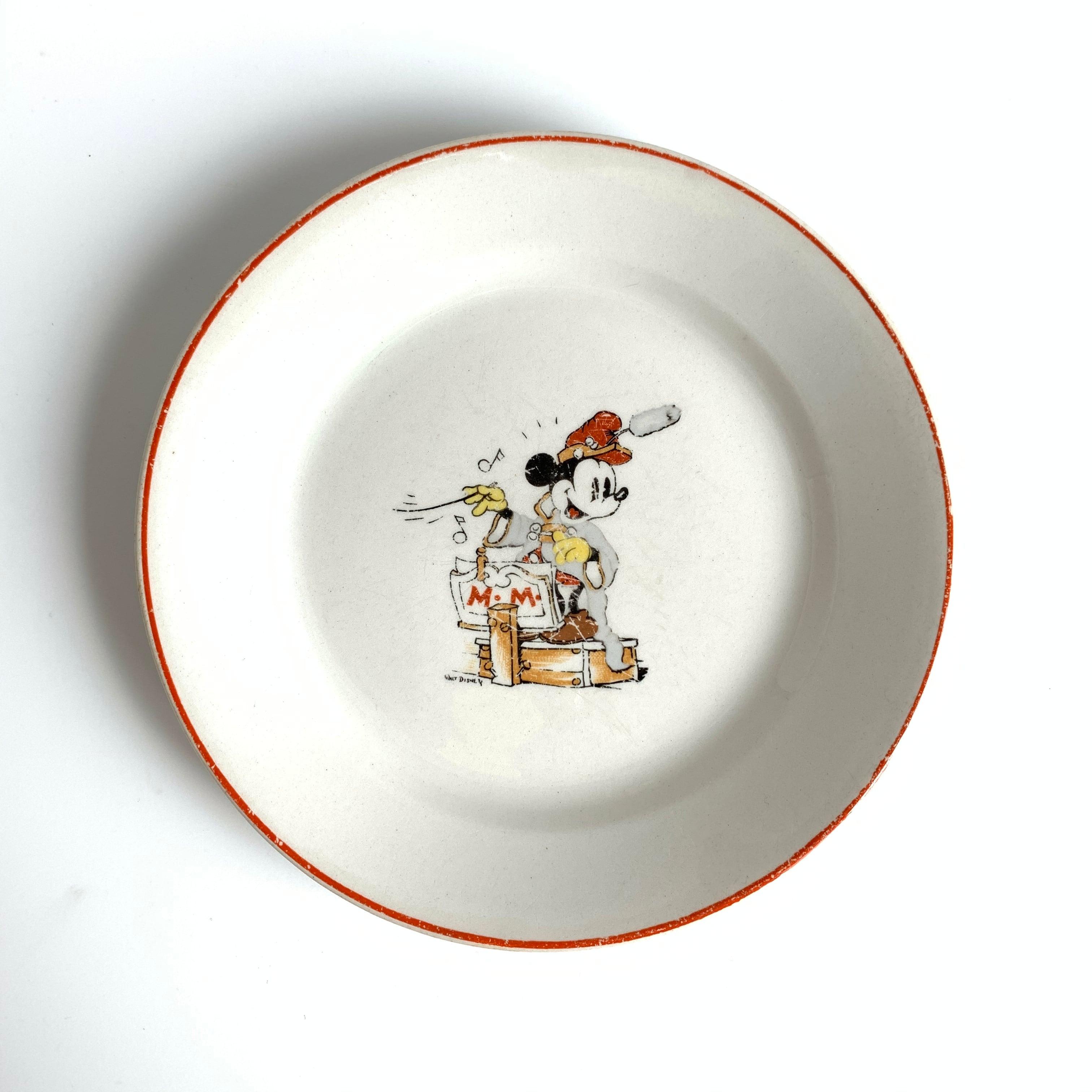 ARABIA / Children Plate[Mickey Mouse]