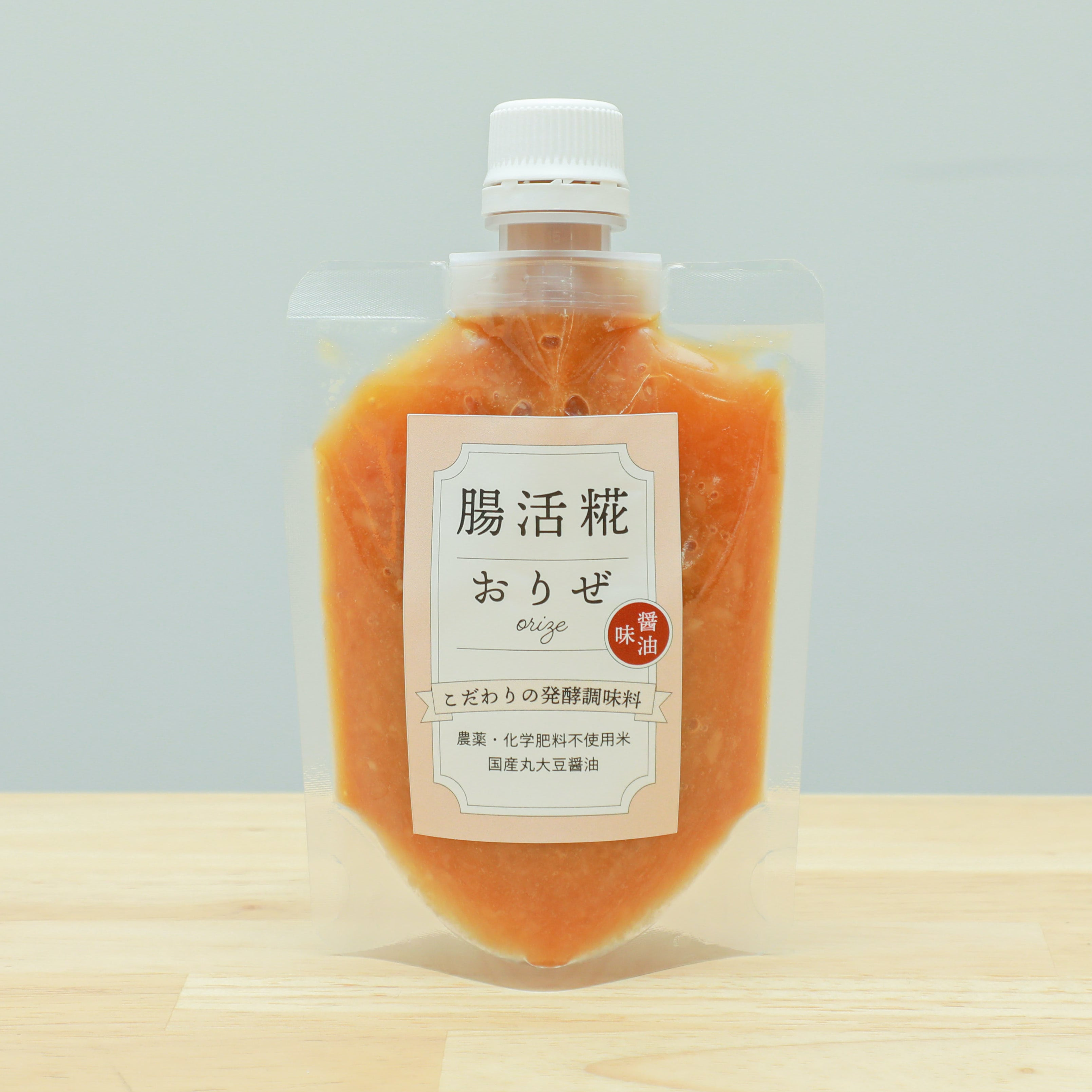 【お得なセット】おりぜ醤油味180g × 5本 - 腸活糀