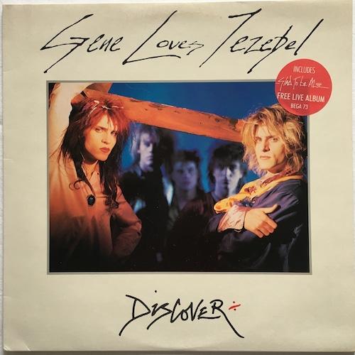 【LP x2・英盤】Gene Loves Jezebel / Discover + Glad To Be Alive
