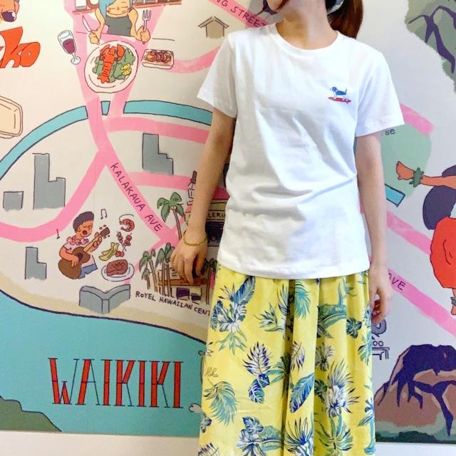 【ハレイワ/HALEIWA HAPPY MARKET】波乗りわんこTシャツ ハワイアン サーフ好きにも