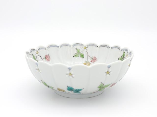 ワイルドストロベリー 盛鉢(1点限り)