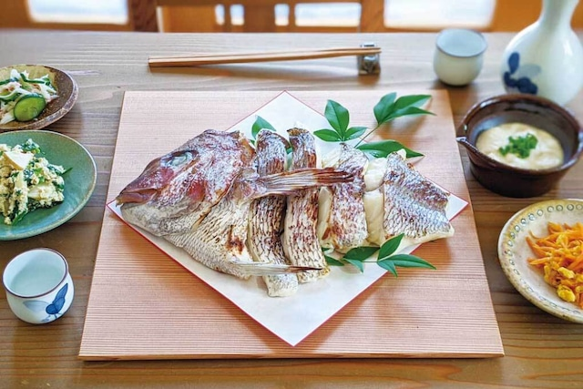 寶鯛の西京漬け・ 片身(4切れ頭付き)