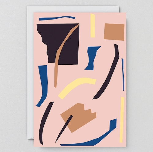 WRAP / ABSTRACT 6 ART CARD -Illustrated by Antti Kekki- アートカード