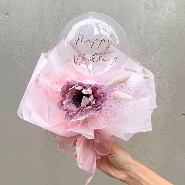 BALLOON FLOWER BOUQUET MINI - melrose -