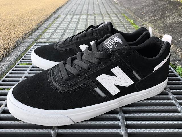 NEW BALANCE NUMERIC NM306BLK (BLACK/WHITE)