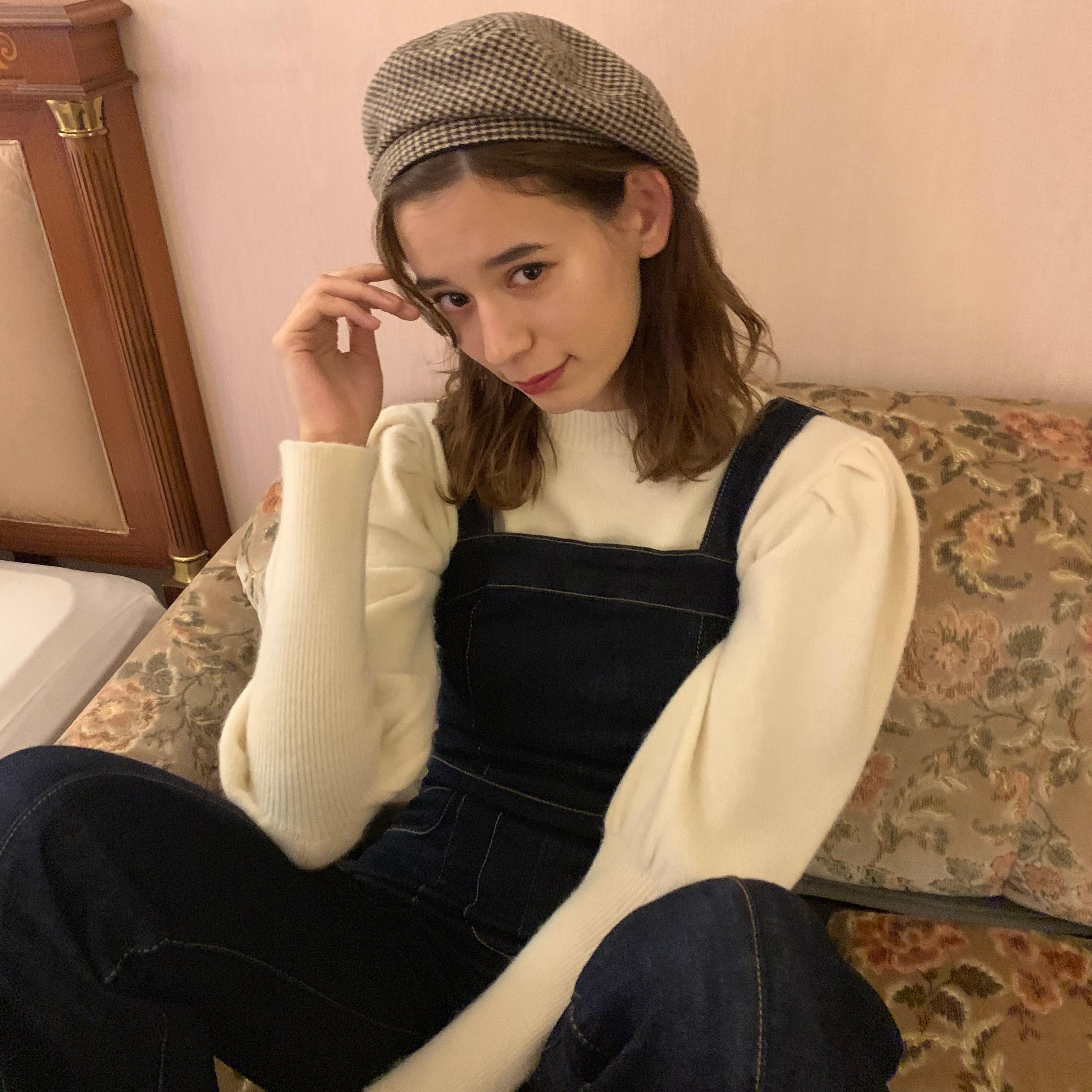 puff sleeve knit