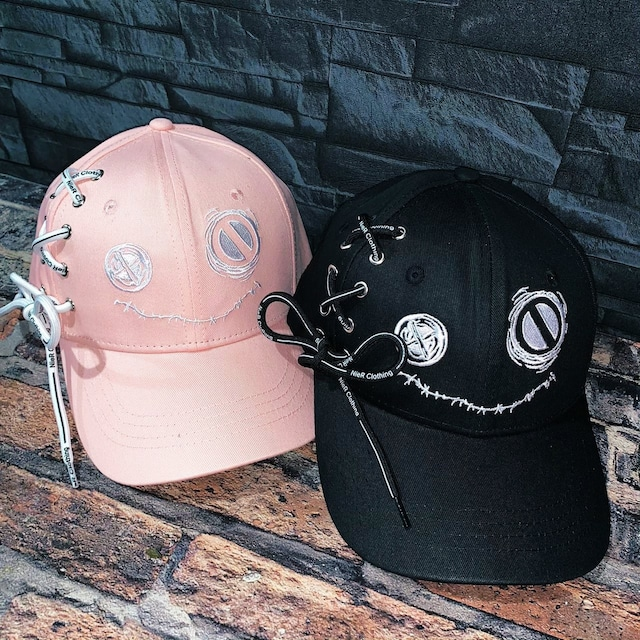 NieR BRAID CAP(PINK &BLACK)