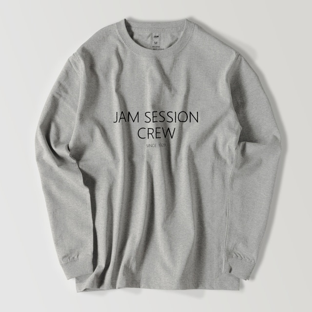 JAM SESSION CREW LONG T (GREY)