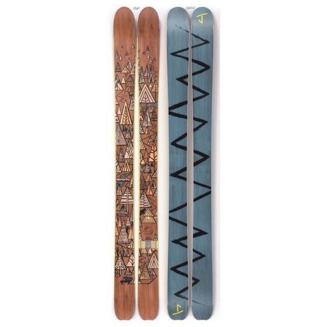 【予約】J skis - スラッカー「ファースト・トラック」Chris Delorenzo x Jコラボ限定版スキー【特典付き】