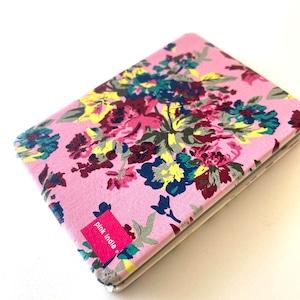 北欧デザイン コンパクト2面ミラー|pink flower