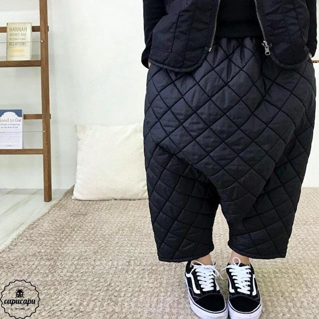 «sold out»«Jr.サイズ» dressmonster 2way quilting pants 2colors