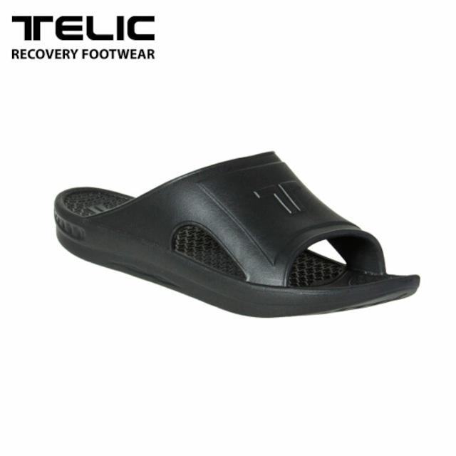 テリック メンズ サンダル リカバリーサンダル TELIC SLIDE BLACK