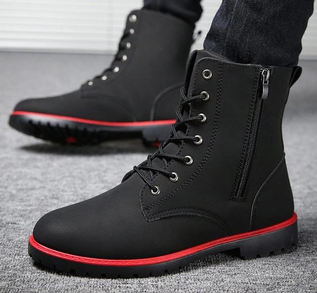 ブーツ ウォーキングシューズ 靴 メンズ シューズ 軽量 カジュアル 春 夏 秋 冬shs-1194