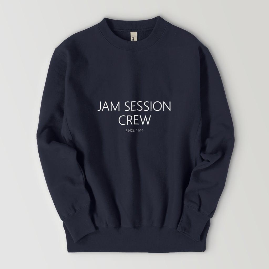 JAM SESSION CREW SWEAT (NAVY)