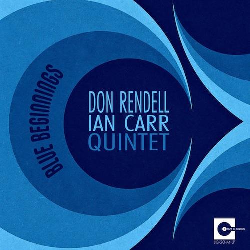 【ラスト1/LP】Don Rendell & Ian Carr - Blue Beginnings