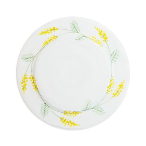 徳永遊心窯 ミモザ 6寸皿