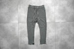 ASKYY / SIDE STRIPE SWEAT PANTS / HEATHER GRY