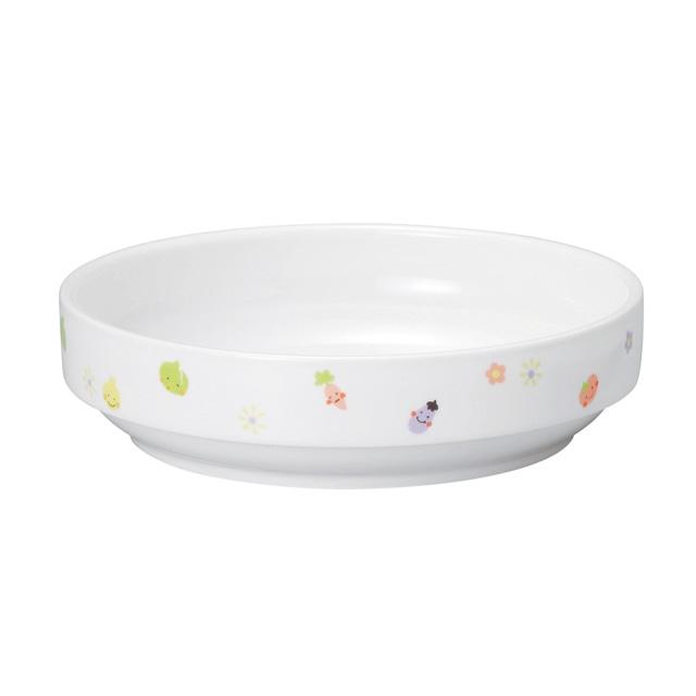 17cm すくいやすい食器 強化磁器 ぷちやさい【1715-1230】