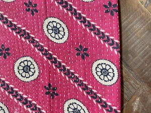 〈vintage〉kantha cushion cover③