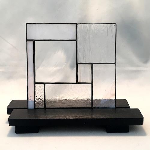 MK008 ガラスのテクスチャーで魅せるモザイクミニパネル Ⅰ