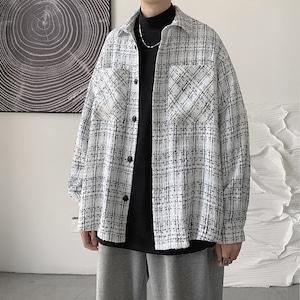 ダブルポケットチェックシャツ BL9543