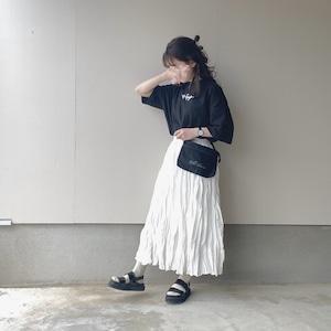 gather design skirt[4/19n-18]