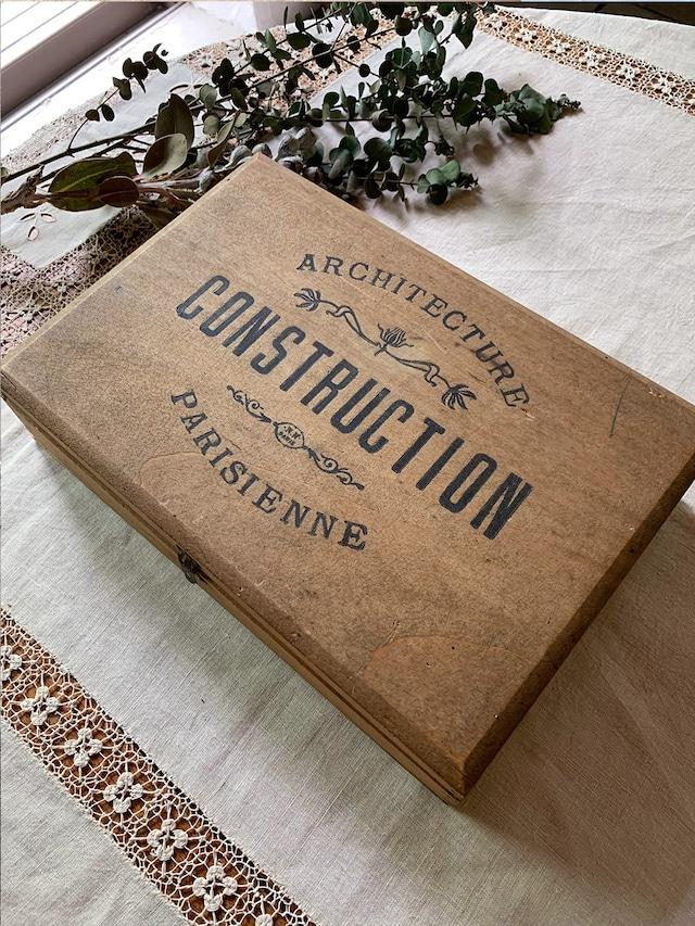 積み木の木箱 CONSTRUCTION