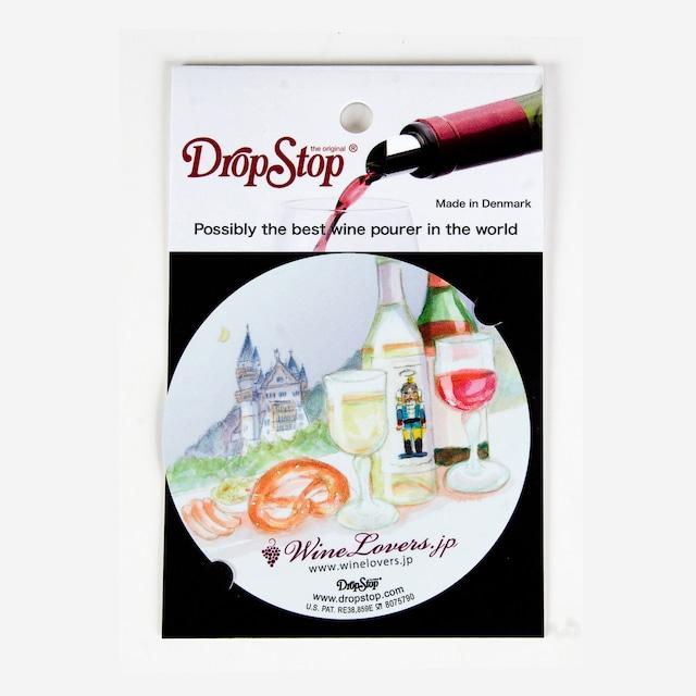 【アウトレット】ワインの液だれ防止 ドロップストップVol.1 / ドイツ 1枚入り DropStop DSS005