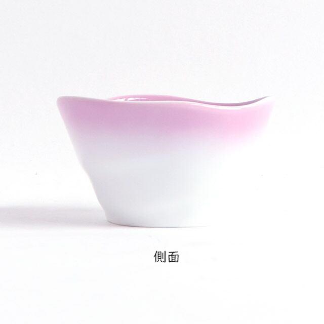 ろくべい小鉢(口径9.0×高さ5.2cm) ぼかし紫【2959-2750】
