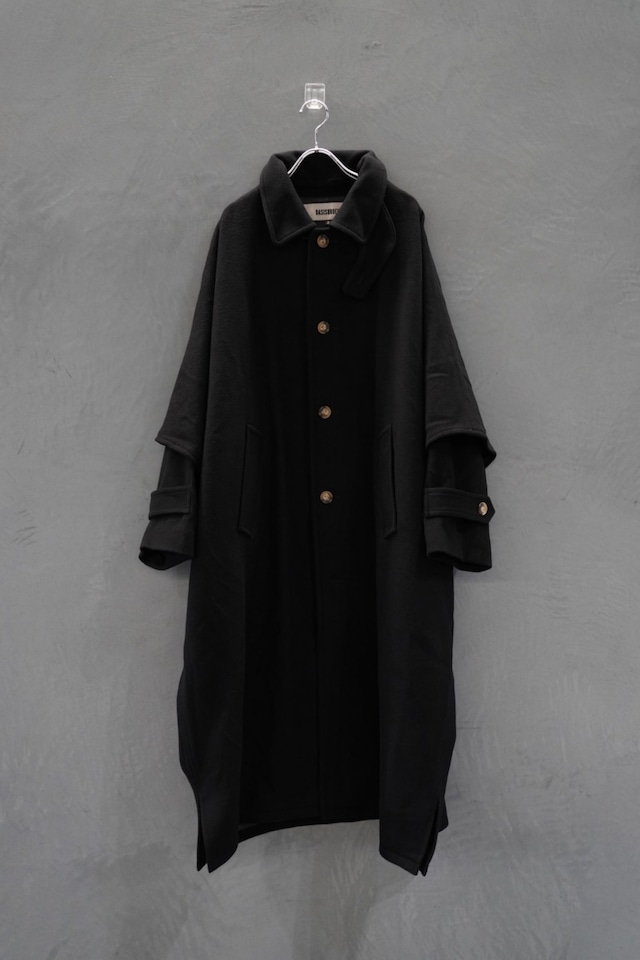 "BASIS BROEK    TOP MELTON   poncho type coat        ""DONKEY"""