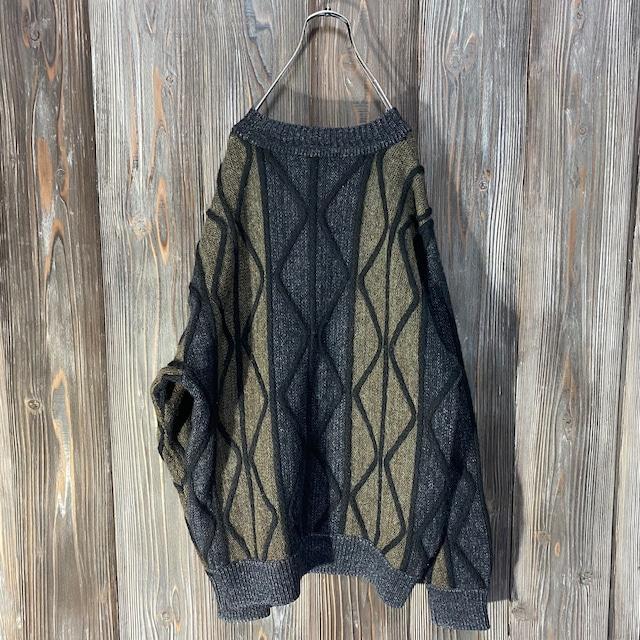 [used]darker 3D knit
