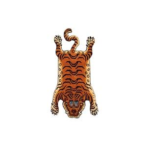 Tibetan (チベタン) Tiger Rug (タイガー ラグ マット) 01 / Small