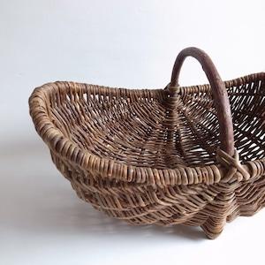 antique baby basket