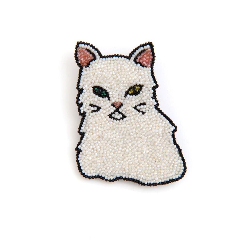 Môko Kobayashi/Chat(odd-eyes)ブローチ