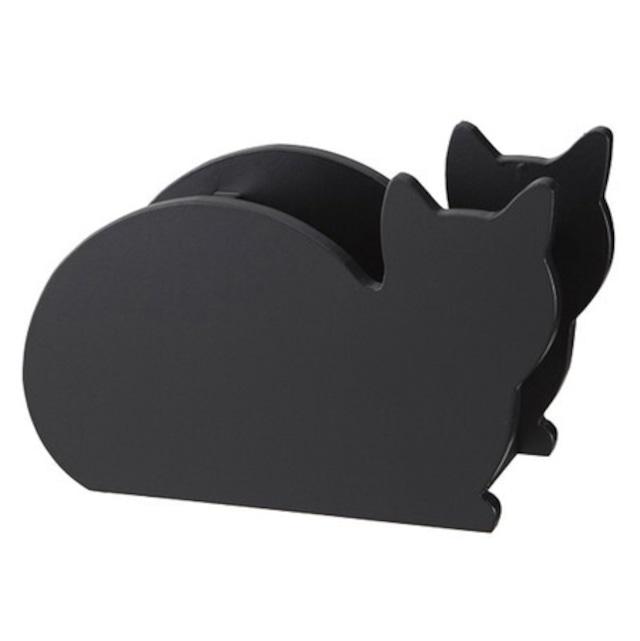 黒猫のリモコンラック/浜松雑貨屋 C0pernicus
