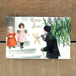 クリスマスカード「Jenny Nyström(イェニー・ニィストルム)」《200221-01》