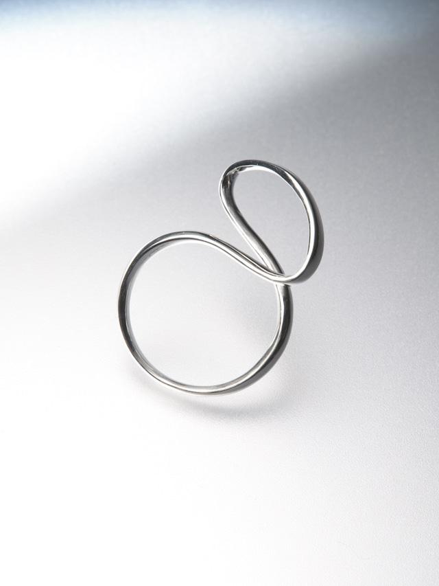 【silver925】silver ribon ring M(CAAC-R036)