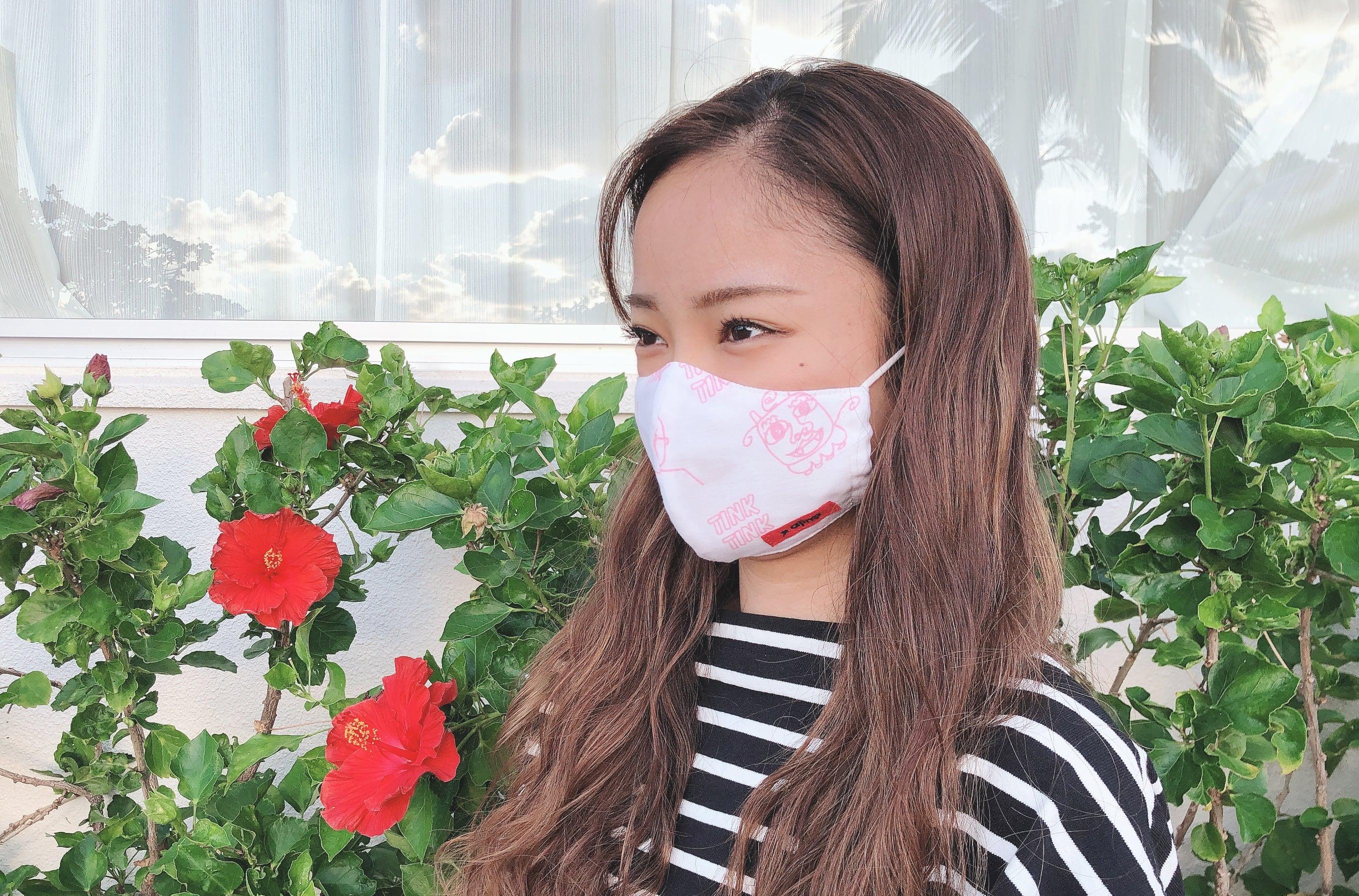 【ティンクティンク】オリジナルマスク<Sキッズサイズ>