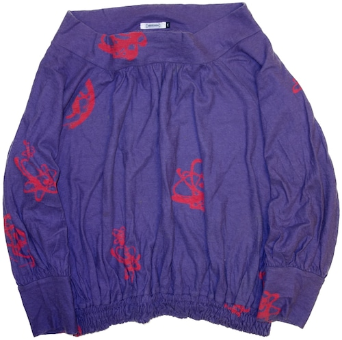01/02AW UNDER COVER×Futura 2000 モックネックカットソー   初期 アンダーカバー ヴィンテージ 古着