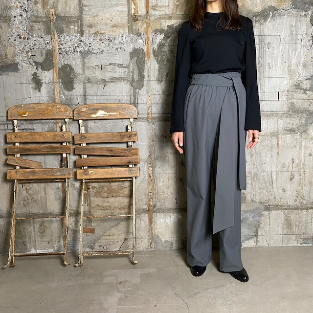 HYKE【ハイク】 Carefree EASY  PANTS (13217 / OLIVE DRAB SIZE:1).