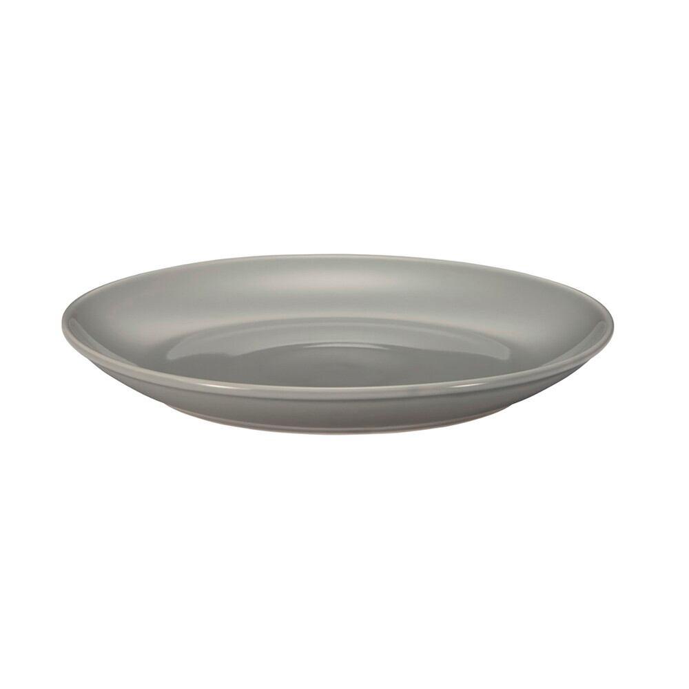 西海陶器 波佐見焼 「コモン」 プレート 皿 240mm グレー 13215