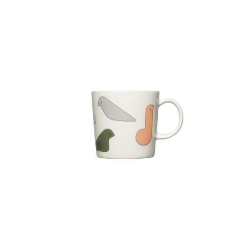 iittala(イッタラ) x mina perhonen(ミナ ペルホネン) マグカップ バード マルチカラー