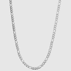 Figaro Chain Necklace【5mm/SILVER】