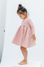 BALLERINA LONG T-DRESS SMOKEPINK 【再販】